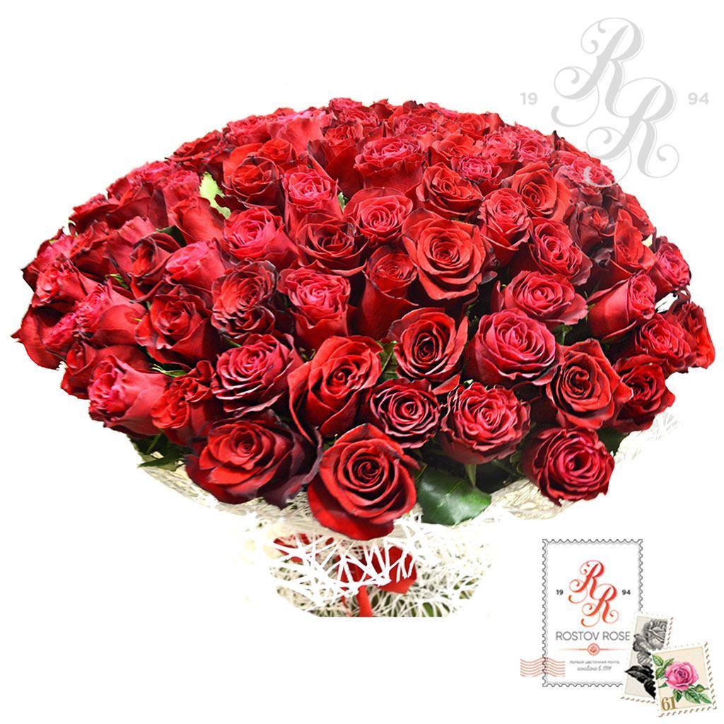 Букет 51 красная роза (Эквадор)