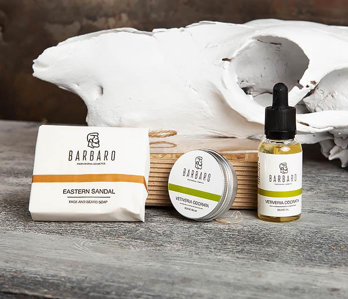 RAZ2007-3 Набор из трех средств: мыло, масло и бальзам для бороды фото 05
