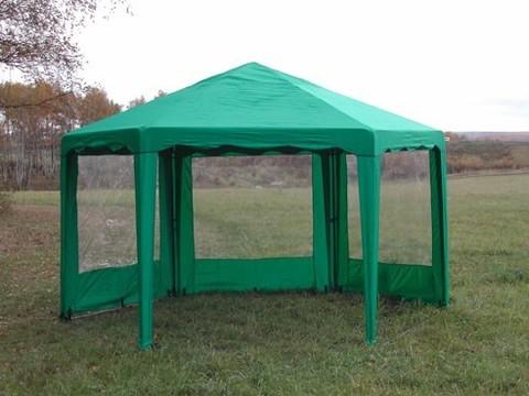 Стенка боковая с окном 2х2 к шатру Митек Беседка 6 граней