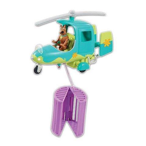 Игровой набор Вертолет и фигурка Скуби Ду - Скуби Ду (Scooby-doo), Hanna-Barbera