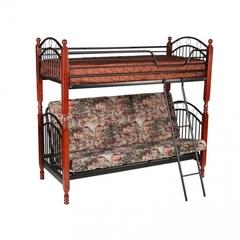 Кровать PS 618 190x90(140) (MK-1918-RO металл) Темная вишня