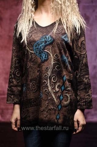 Женский пуловер Magical Koko Cactus Bay. Made in USA