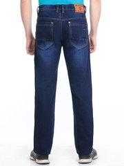 9159 джинсы мужские утепленные, синие