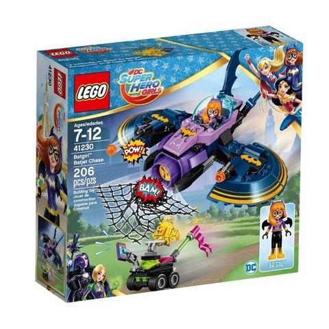 LEGO DC Super Hero Girls: Бэтгёрл: Погоня на реактивном самолёте 41230 — Batgirl Batjet Chase — Лего Девушки-супергерои