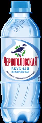 Вода черноголовская, негазированная артезианская 0.33