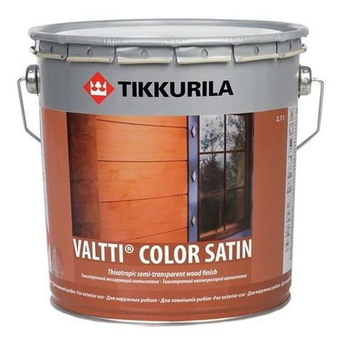Антисептик Tikkurila Valtti Color Satin EС 9 л
