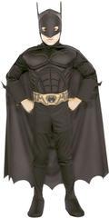 Костюм супергероя Бэтмена для мальчика Deluxe