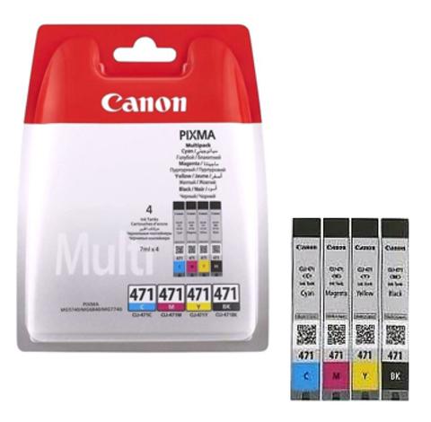 Картридж Canon CLI-471 BK/C/M/Y/0401C004