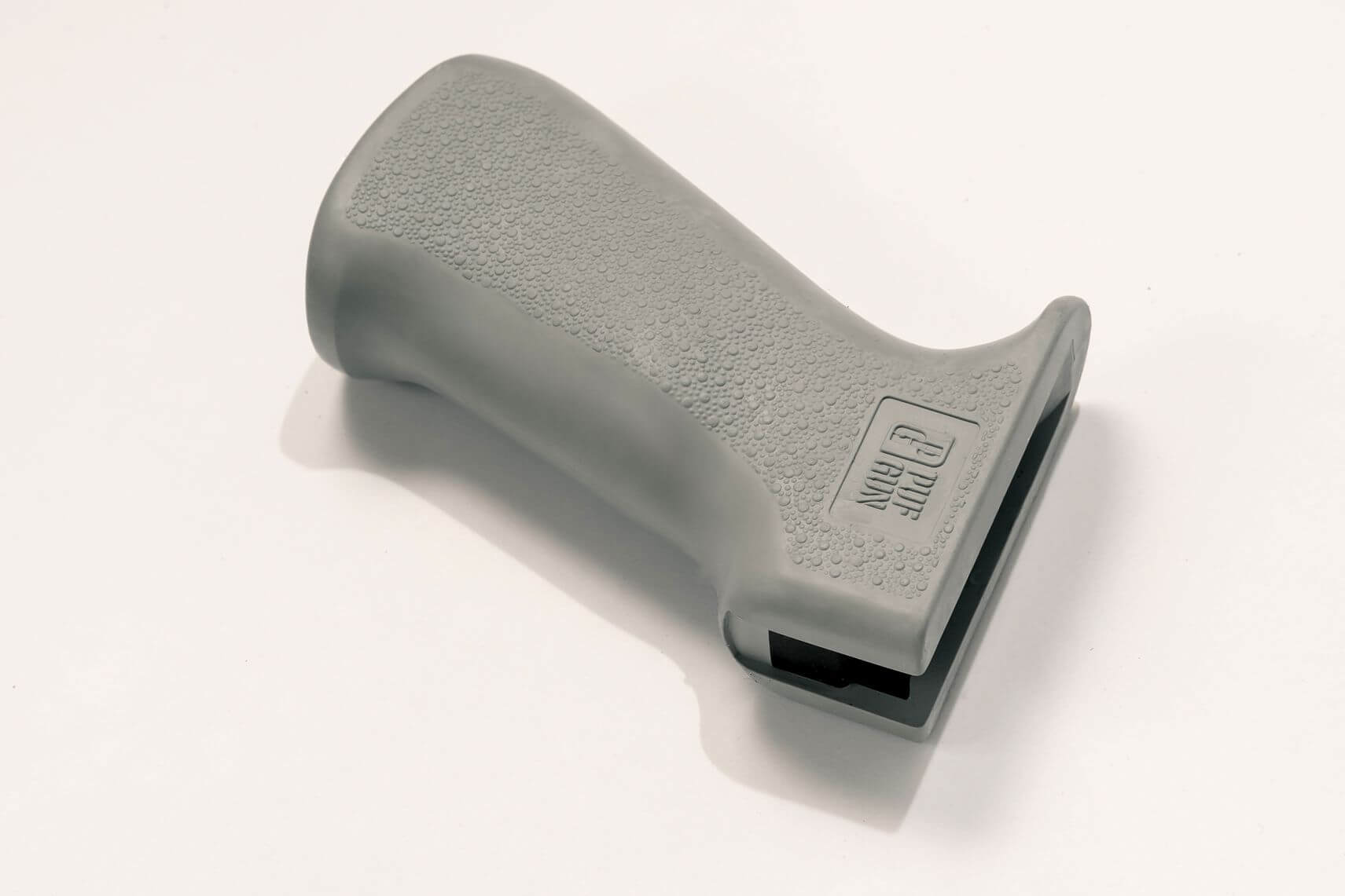Пистолетная рукоятка Pufgun прорезиненная, серый