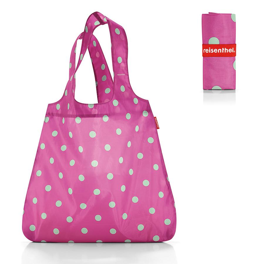 Сумки Сумка складная Mini maxi shopper magenta dots a01f543bb192d06725b2097d173c820b.jpeg