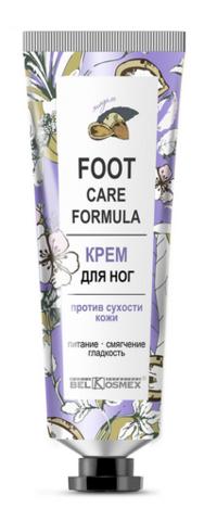 BelKosmex Foot Care Formula Крем для ног против сухости кожи 70 г