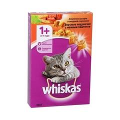 Whiskas полноценный корм для кошек подушечки с паштетом со вкусом говядины и кролика