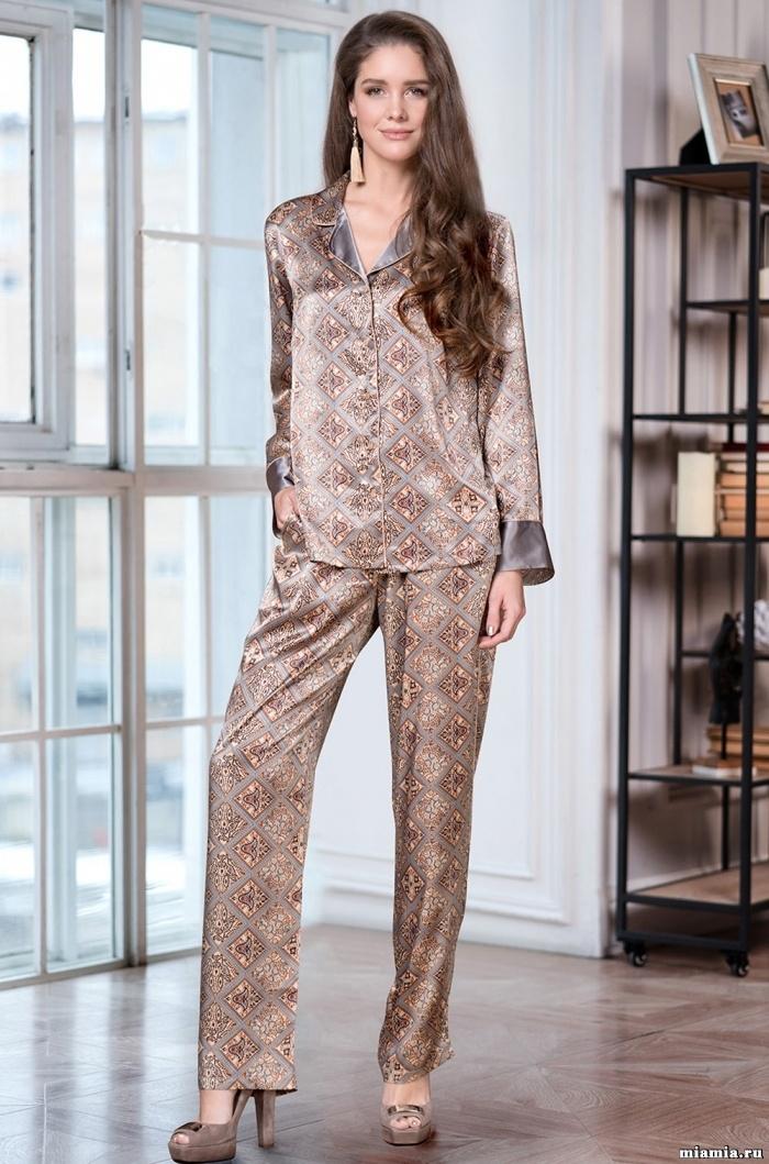 Женская пижама MIA MIA SEVILIA 3466 (70% натуральный шелк)  интернет ... 9cf0d2e5d68