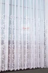 Тюль Амели французская сетка (белый)