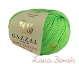 Пряжа Gazzal Baby Cotton 3427 зелень