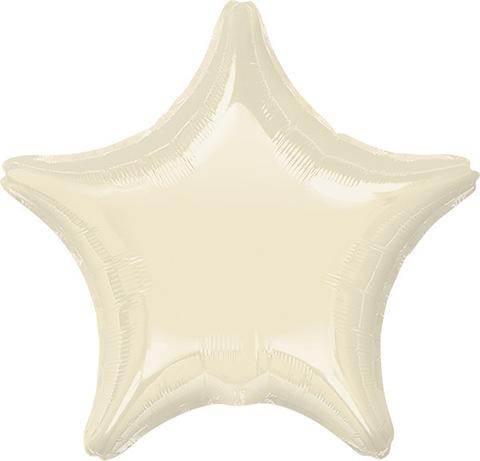 Воздушный шар Звезда (Белая)