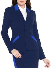 KR081-88 пиджак женский, синий