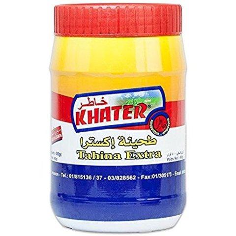 Кунжутная паста тахини Khater, 400 г
