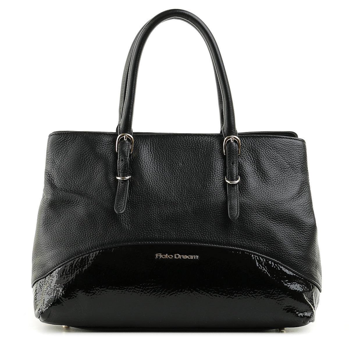 5212 FD кожа /наплак черный (сумка женская)