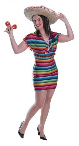 Платье Мексиканки