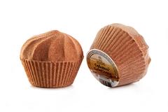 Шар-маффин для ванн Горячий шоколад, 150g ТМ Мыловаров