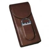 Футляр для 3 сигар Афисионадо Cigar Leather Case LC3MC/BN
