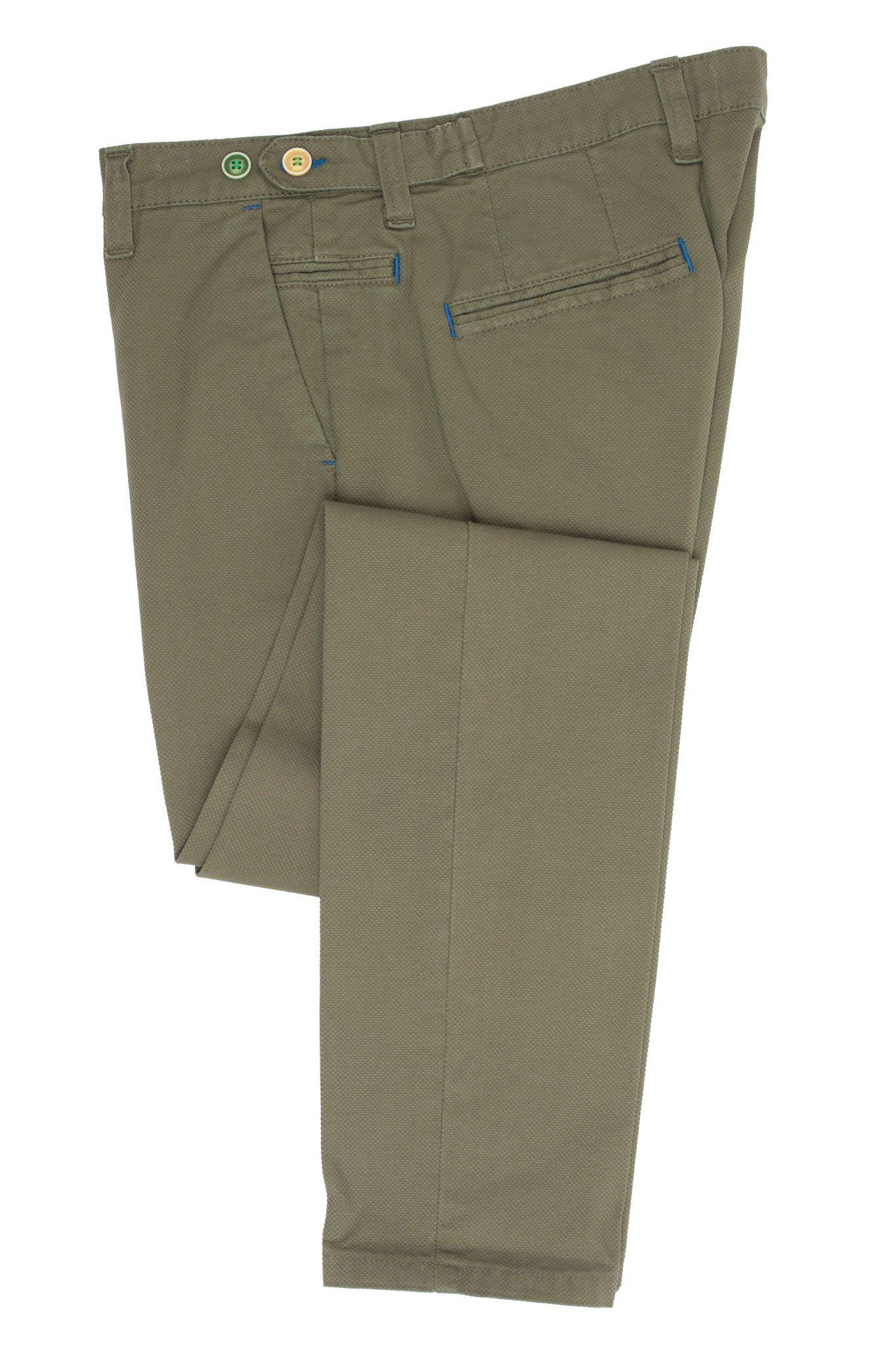Хлоповые брюки чинос сильно зауженного кроя