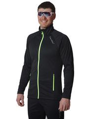 Элитная утеплённая лыжная куртка Nordski Elite G-TX Black 2019