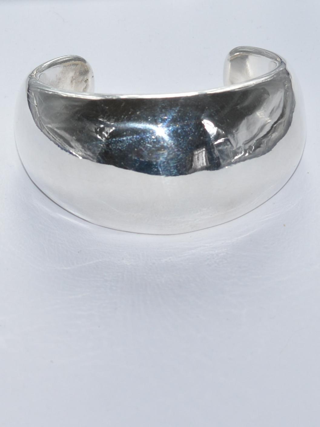 Скоба (браслет из серебра)
