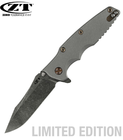Нож Zero Tolerance модель 0392BWBRZ Рик Хиндерер Limited Edition
