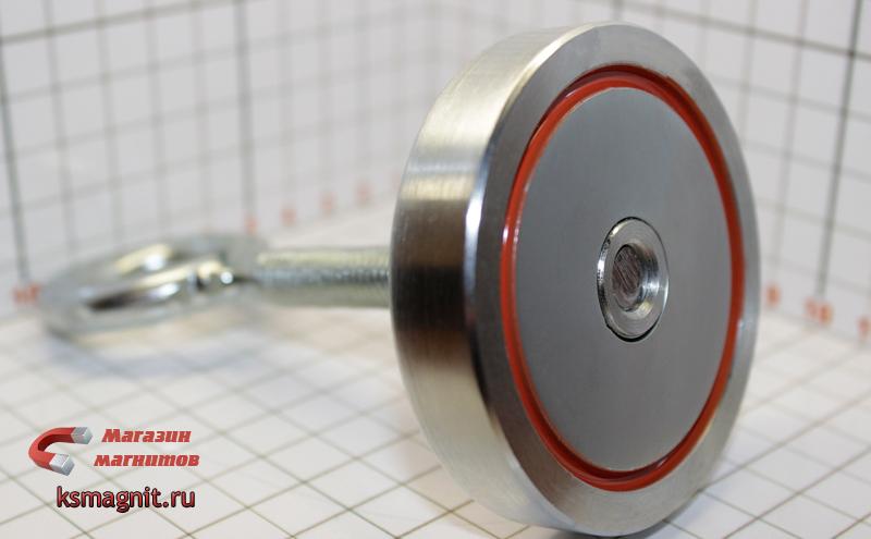 Поисковый двусторонний магнит f-120*2 купить в красноярске.