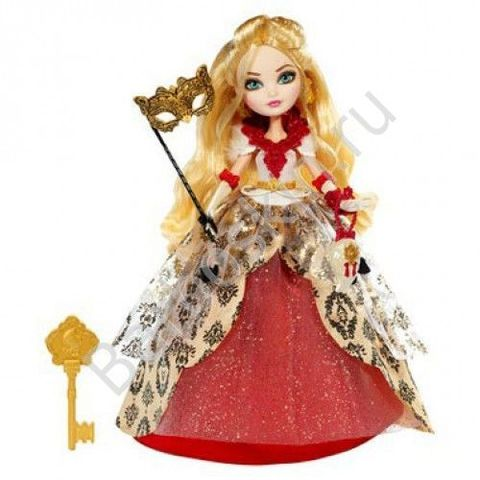 Кукла Ever After High Эппл Вайт (Apple White) -  День Коронации