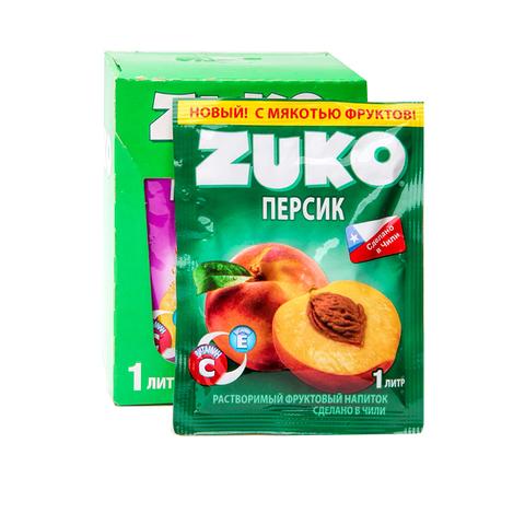Растворимый напиток ZUKO Персик  25г*12шт*8 бл