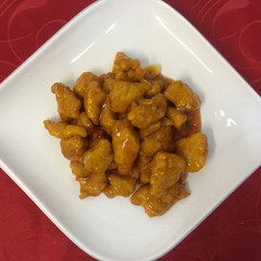 7-3 Курица в кисло-сладком соусе