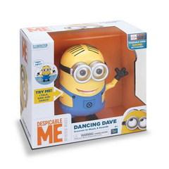 Миньон танцующий Дейв интерактивная игрушка 20 см