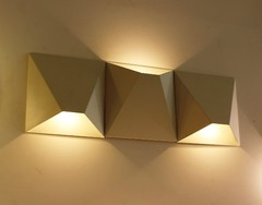 бра CUBE triple  wall lamp by Vibia style