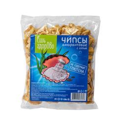 Чипсы амарантовые Ешь здорово, Di&Di, с солью, 90 г.