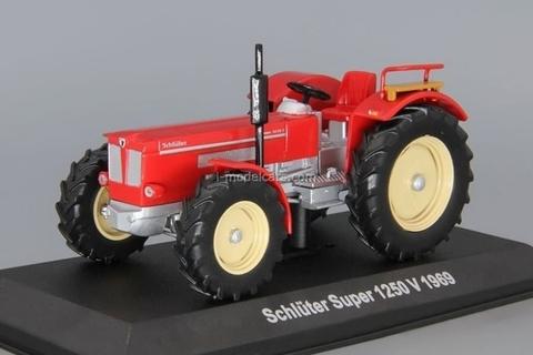 Tractor Schluter Super 1250 V 1969 1:43 Hachette #87