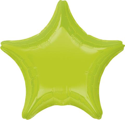Воздушный шар Звезда (Салатовая)