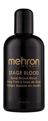 MEHRON Кровь искусственная Stage Blood - Bright Arterial (Edible) 9 oz. (Яркая артериальная), 270 мл