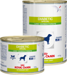 Консервы для собак, Royal Canin Diabetic Special Low Carbohydrate, при сахарном диабете