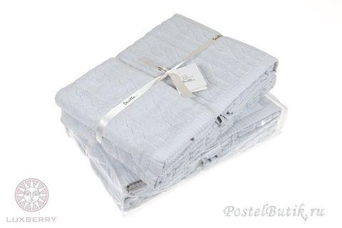 Набор полотенец 3 шт Luxberry Imperio лаванда