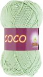 Пряжа Vita Coco светло-салатный 4314