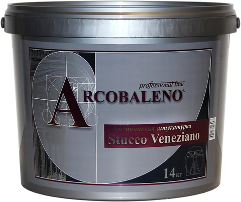 STUCCO VENEZIANO Венецианская штукатурка 0.5 кг База А