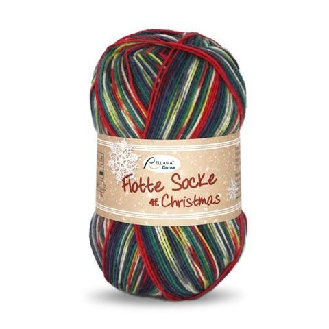 Носочная пряжа Rellana Flotte Socke Christmas 2401 купить