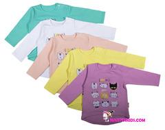 1196 футболка с рукавом мои котики
