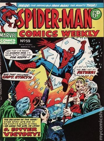 Spider-Man Comics Weekly (1973 UK) Issue 59