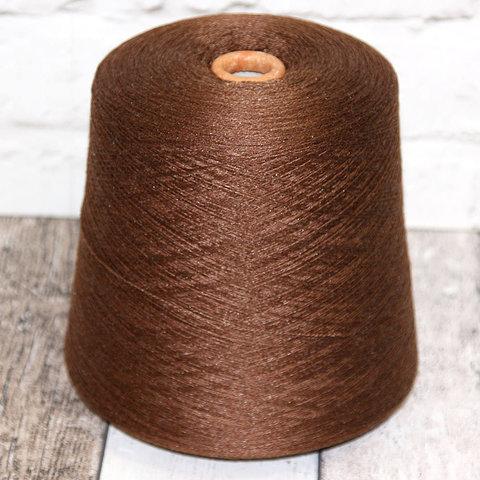 Меринос с шелком (25%) ZEGNA BARUFFA / ANTHEUS 2/28 коричневый