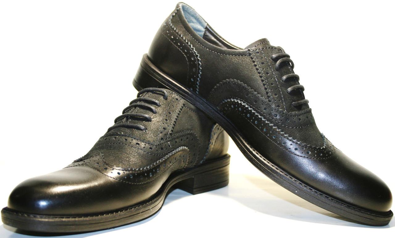 eb7634f01b13 Купить туфли мужские классические оксфорды черные Pandew на 2tufli ...