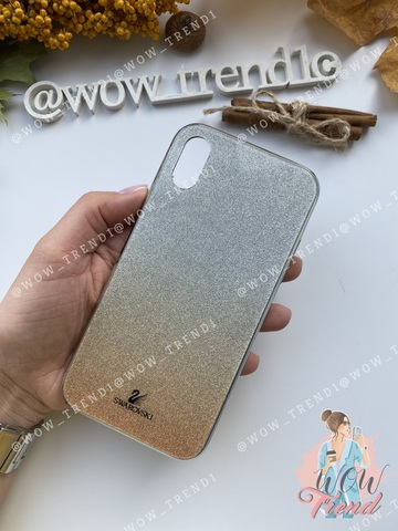 Чехол iPhone 11 Swarovski Case /gold/